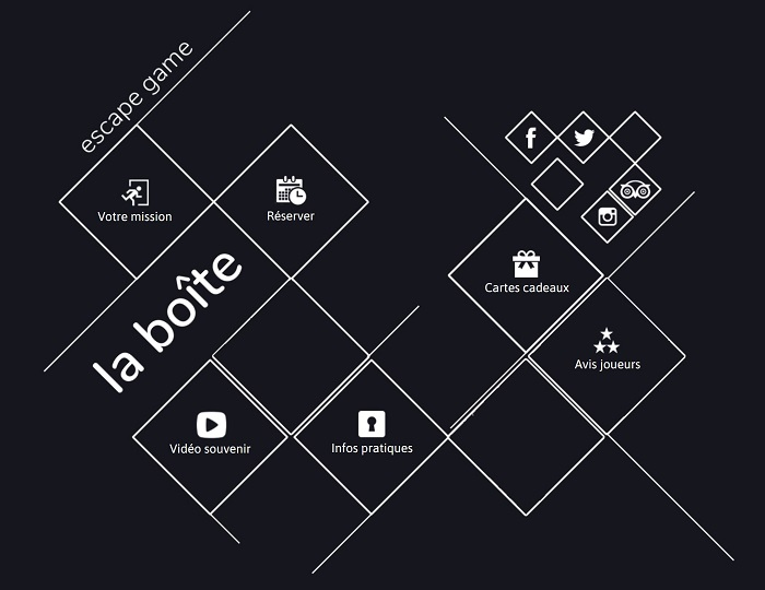 La boite- Escape game