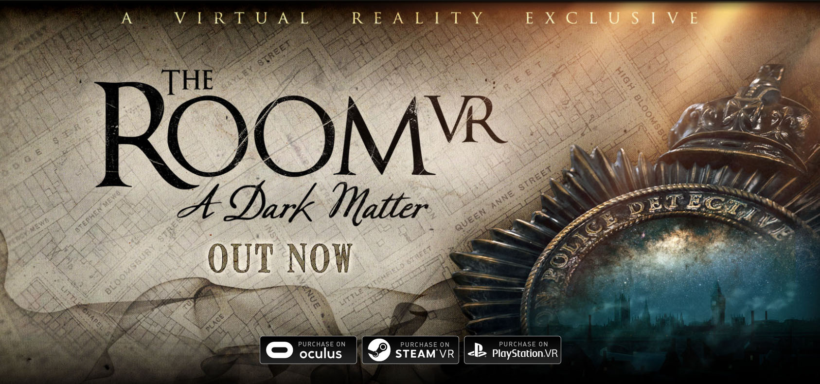 The room VR : A Dark Matter