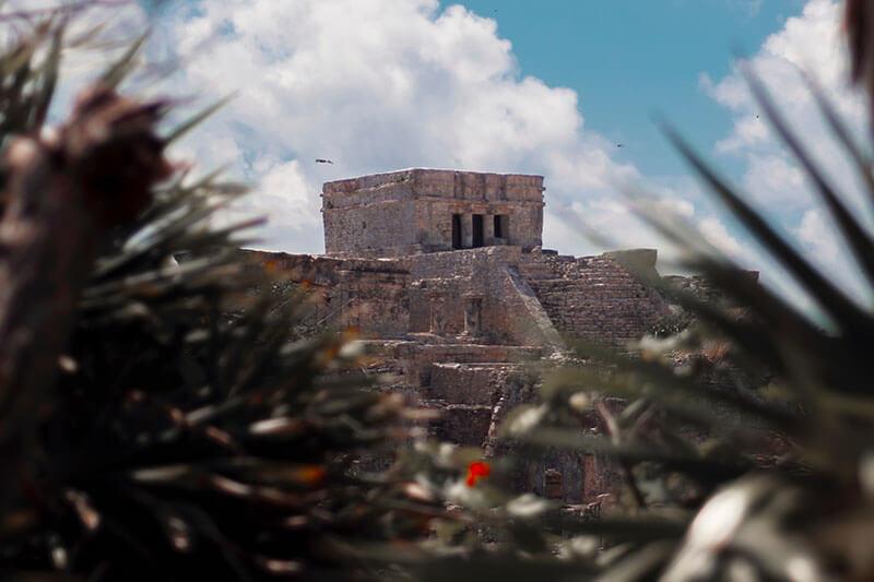 Le temple Maya