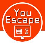 You escape