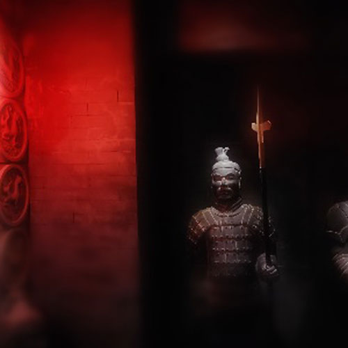 Le tombeau de l'empereur Qin